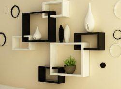 Изящные стильные полки гармонично украсят  интерьер любого помещения