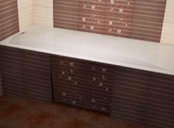 При помощи гипсокартона можно стильно и красиво украсить ванную комнату