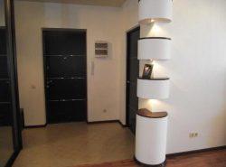 Интересно и необычно украсить интерьер помогут декоративные колоны из гипсокартона