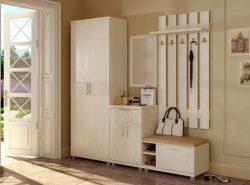 Сделать прихожую практичной и комфортной можно при помощи функционального мебельного гарнитура