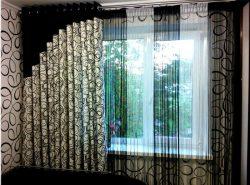 Одним из самых ярких примеров являются шторы на люверсах, которые набирают все большую и большую популярность