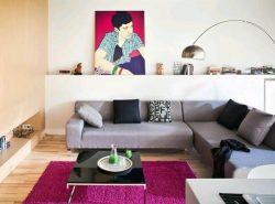 Красивый угловой диван способен стильно украсить интерьер современной гостиной