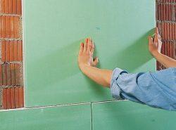 Гипсокартон поможет эффективно устранить углубления или неровности стен