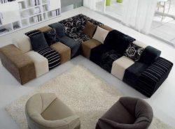 Мягкий уголок является незаменимым в гостиной, поскольку он функциональный и практичный