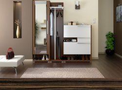 Мебель для прихожей должна красиво выглядеть, и быть удобной для владельцев жилья