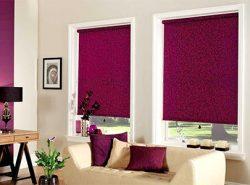 Красивые рулонные шторы отлично дополнят практически любой интерьер