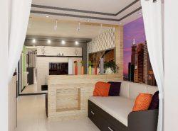 Зонирование спальни поможет не только правильно спланировать интерьер, но и сделать комнату функциональной