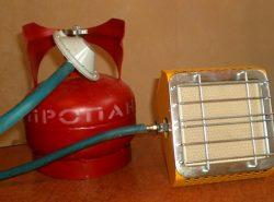 Популярный способ обогрева теплиц — использование тепла от горящего газа