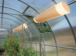 Хороший обогреватель для теплицы позволит садоводу-огороднику заниматься любимым делом круглогодично