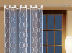 Гардины для штор могут быть изготовлены из различных материалов: металла, дерева, пластика