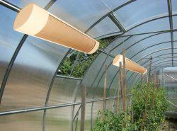 Лучшими приборами для обогрева теплицы являются инфракрасные обогреватели