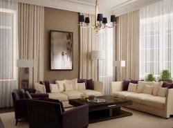 Придать помещению законченный вид и украсить интерьер можно при помощи красивых штор