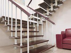 Модульной называется лестница, состоящая из большого количества одинаковых элементов