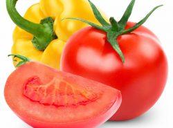 Перцы и томаты вместе растут неплохо, потому что те и другие относятся к группе пасленовых культур