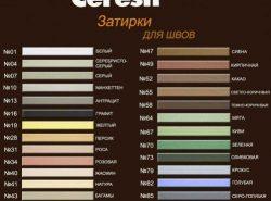 Цветовая гамма и качество затирки подходят для любых условий применения