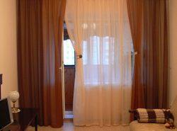 Благодаря шторам можно улучшить внешний вид не только окон, но и всего помещения