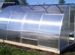 Теплица с раздвижной крышей создает наиболее подходящие условия для выращивания рассады