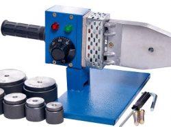 Сварочный аппарат для полипропиленовых труб обладает компактными размерами, благодаря чему им удобно пользоваться
