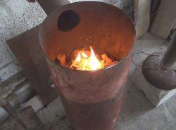 Для изготовления печи Бубафоня не нужно иметь особых навыков