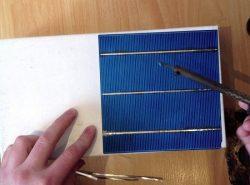 Материалы для изготовления солнечной батареи можно купить в специализированном магазине или заказать в интернете